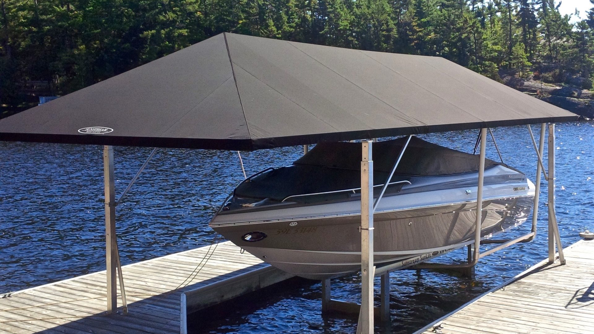 Canopy Covers For Boat Lifts - Free boat building plans