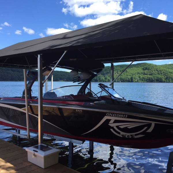 PWC LIFTS. CANOPIES & Sunstream Boat Lifts - Brad Hutchinson Sales and Service